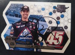 2004 Press Pass In Person Autograph  Kyle Petty