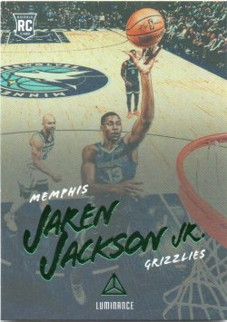 2018-19 Panini Chronicles Jackson Jr, Jaren - Luminance Green