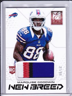 Marquise Goodwin 2013 Elite New Breed Jerseys Prime /99