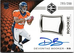 2016 Panini Limited Rookie Patch Autographs Devontate Booker
