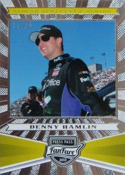 2013 Press Pass Fan Fare Denny Hamlin