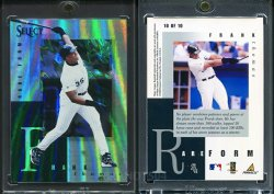 1998   Select Rare Form (Non Released Product) Frank Thomas