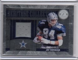 2011 Panini Totally Certified Jay Novacek Heritage Collection Prime Patch