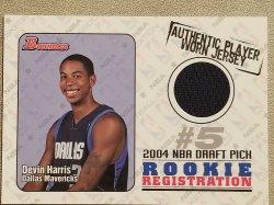 2004 Bowman Rookie Registration  Devin Harris