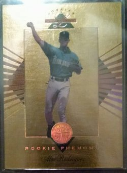 1994 Leaf Limited Alex Rodriguez rookie phenoms
