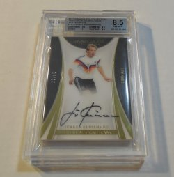 2017 Panini Immaculate Collection Jurgen Klinsmann Historical Significance auto