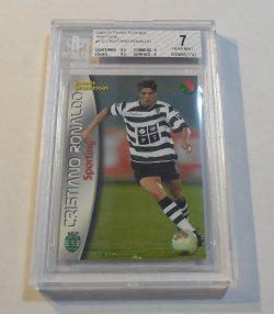 2002/03 Panini Futebol Cristiano Ronaldo Rookie Card