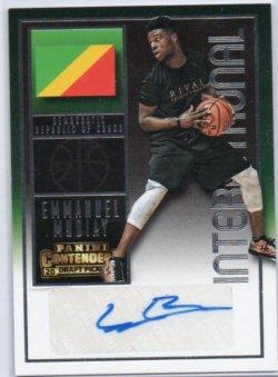 2015-16 Panini Contenders Draft Picks Mudiay, Emmanuel