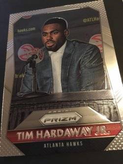 2015 Panini prizm NBA TIM HARDAWAY JR. #8  Atlanta Hawks  NewYork Knicks G