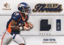 Eddie Royal 2009 Upper Deck SP Threads Patch
