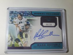 2019 Panini Patches Plates Brunell