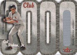 Cal Ripken 2000 Fleer 3000 Club Jersey