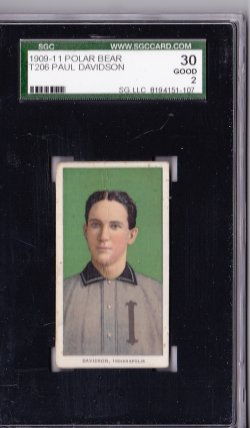 1909  T206 Polar Bear Paul Davidson