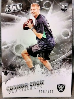 2016 Panini Father Connor Cook Rookie #3