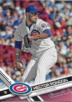 2017 Topps Mothers Day Pink Rondon