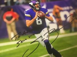 Sam Bradford Signed Personalized 8x10