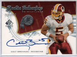 2008  Upper Deck SP Authentic Colt Brennan
