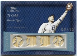 2008 Topps Sterling Ty Cobb Moments