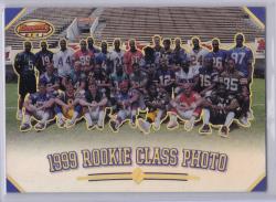 1999 Bowman Rookie Class Photo Refractor Edgerrin James