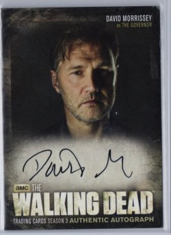 2014  The Walking Dead Season 3 Part 2 DAVID MORRISSEY (THE GOVERNOR)
