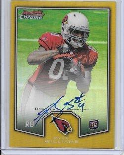 2011 Topps Chrome Bowman Chrome Rookie Preview Autograph - Ryan Williams (A)