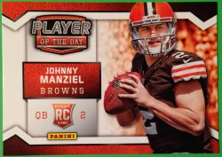 2014 Panini Player of the Day #RC-1 Johnny Manziel RC paninipod