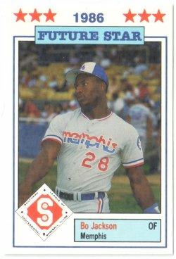 1986  Jennings Southern League All Stars Bo Jackson