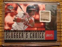 Rafael Furcal 2001 UD Gold Glove Sluggers Choice Batting Glove