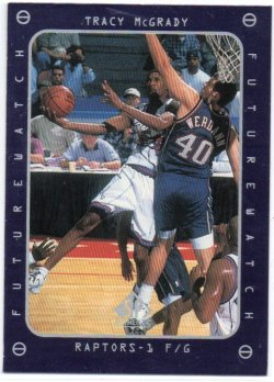 1997-98 Upper Deck SP Authentic McGrady, Tracy