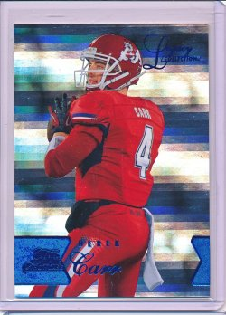 Derek Carr 2014 Flair Showcase Legacy Row 1 RC /100