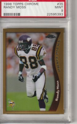 1998 Topps Chrome Randy Moss