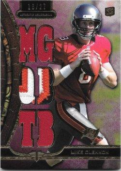 2013 Topps Triple Threads Relics Purple Mike Glennon