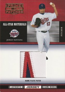 05 Prime Patches All Star Materials Name Plate Patch #ed 28 of 32