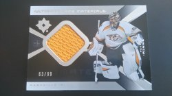 2014-15   Ultimate Collection - 2004-05 Retro 10th Anniversary Ultimate Memorabilia #UGJ-PR Pekka Rinne