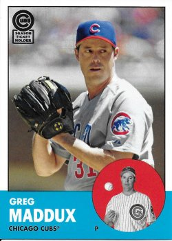 2013 Cubs Topps Archives Season Ticket Holder - 28
