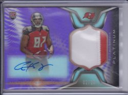 Austin Seferian-Jenkins 2014 Topps Platinum Rookie Patch Autographs Purple Refractor /10