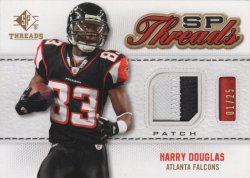 Harry Douglas 2009 Upper Deck SP Threads Patch 01 of 25