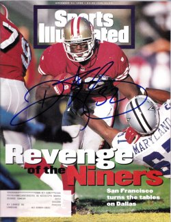 1994   Ricky Watters Signed IP Sports Illustrated Magazine