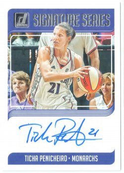 2019 Donruss WNBA Signature Series Ticha Penicheiro