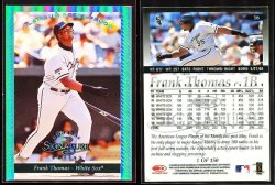 1997  Donruss Signature Platinum Press Proofs Frank Thomas
