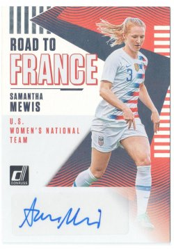 2019 Donruss Road to France Autographs Samantha Mewis