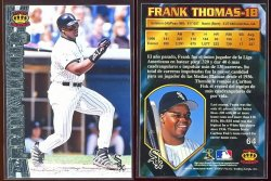 1997  Pacific Silver Frank Thomas
