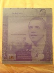 2009  Beckett Printing Plate Barack Obama and the U.S. Presidents