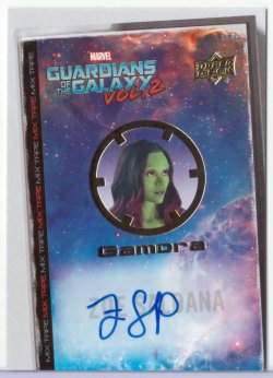 Guardians Of The Galaxy Vol 2 ZOE SALDANA (GAMORA)
