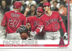2019 Topps Update Mike Trout/Shohei Ohtani