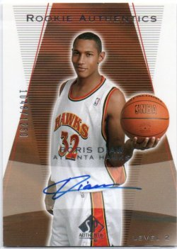 2003-04 Upper Deck SP Authentic Diaw, Boris