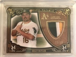 2016 Topps museum Collection Meaningful Material Gold Billy Butler