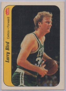 1986-87 Fleer Stickers Larry Bird