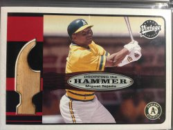 2003 Upper Deck Vintage - Dropping the Hammer  Miguel Tejada