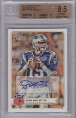 2012 Topps Magic Ryan Mallett AU